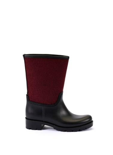 Esem ESEM B0002 Yağmur Botu Kadın Ayakkabı  Bordo